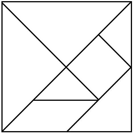 gioco tangram da
