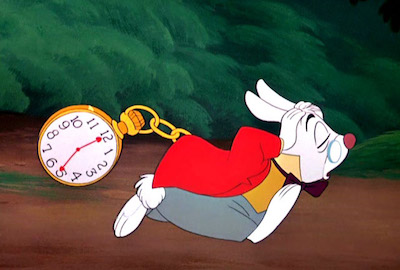 puntualmente in ritardo
