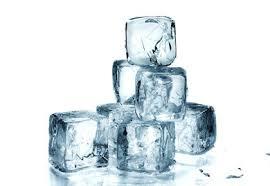 Esperimento con il ghiaccio