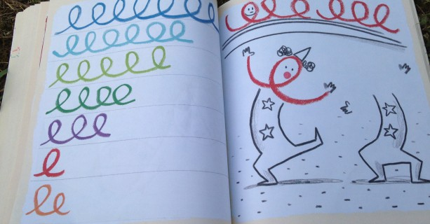Imparare a SCRIVERE con scarabocchi e pregrafismi!