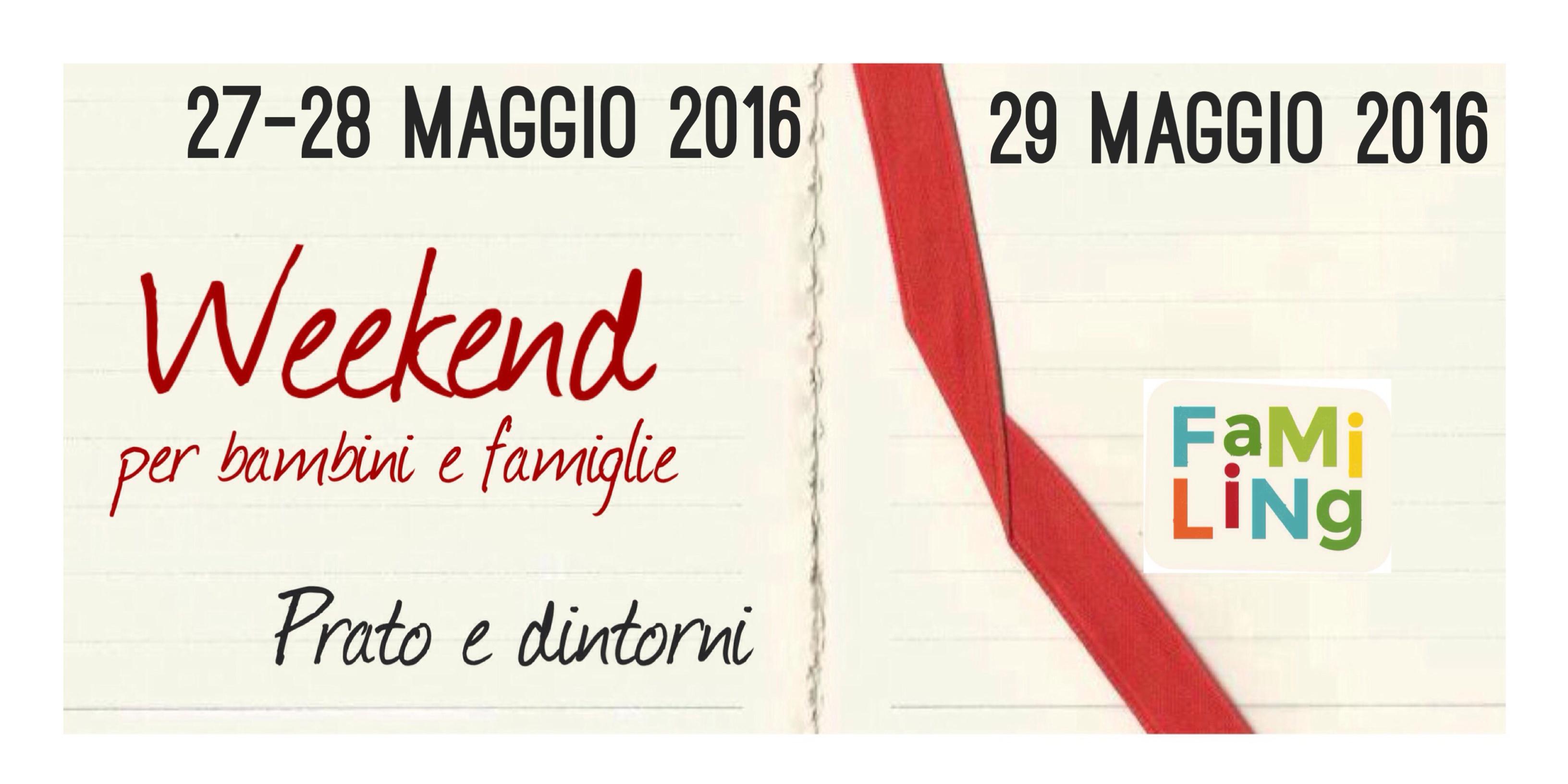 fine settimana maggio a Prato