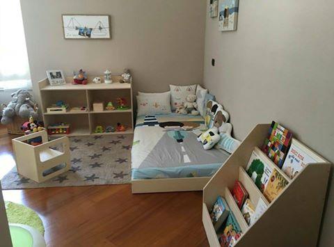 Cameretta Neonato Montessori : Camerette per bambini montessori