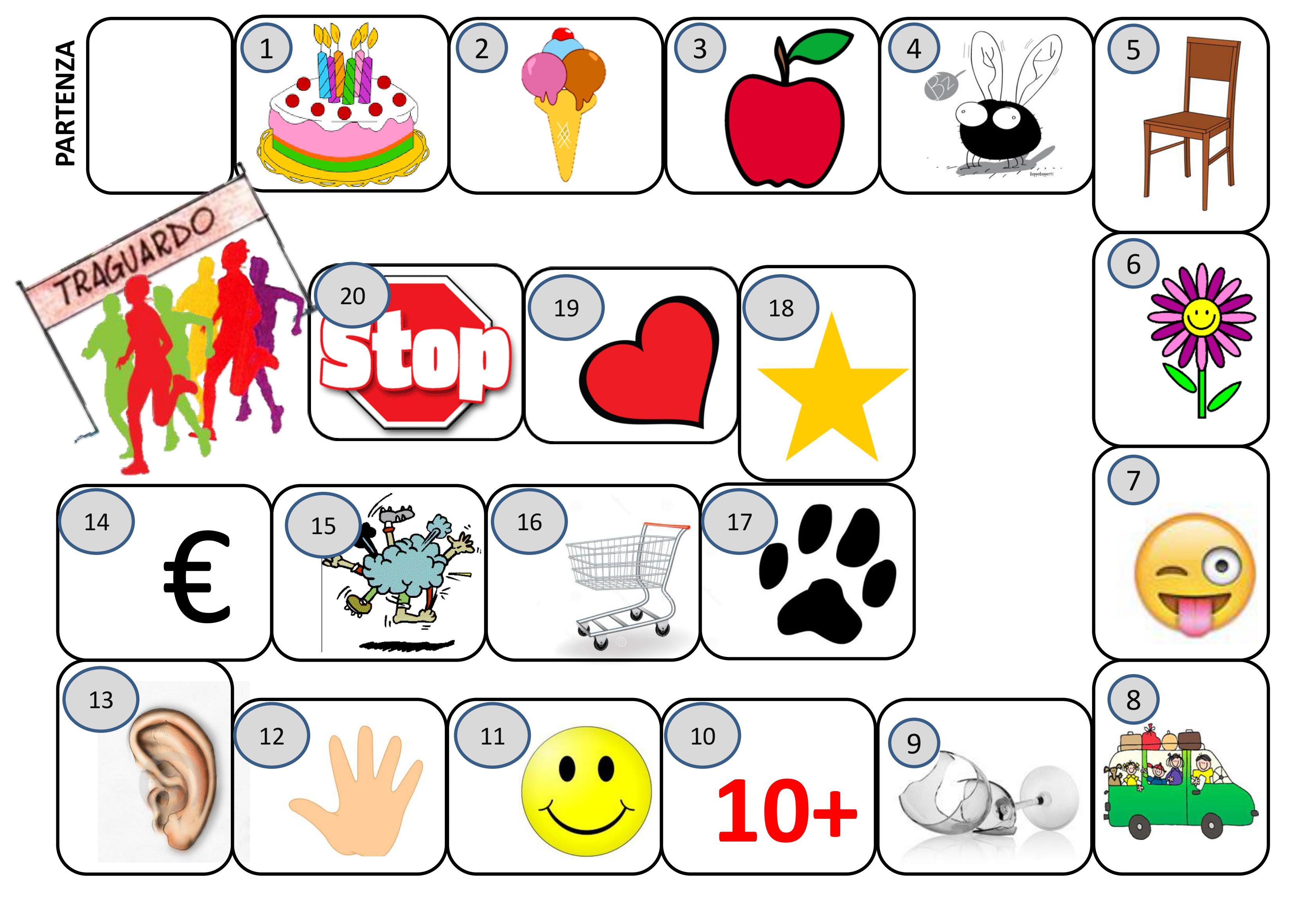 Giocare le abilit sociali e relazionali a scuola for Gioco dell oca da stampare e colorare