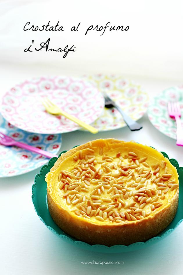 Crostata con crema al limone e pinoli di Chiara passion