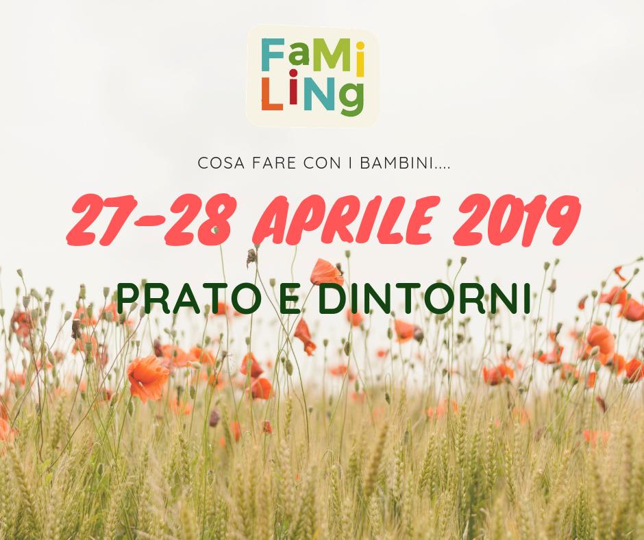 27-28 Aprile 2019 PRATO PER BAMBINI