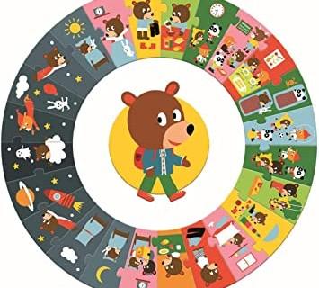 Un puzzle per non dimenticare la routine dei bambini